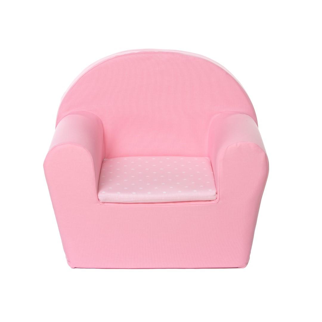 peuterstoel (roze ster klein roze)
