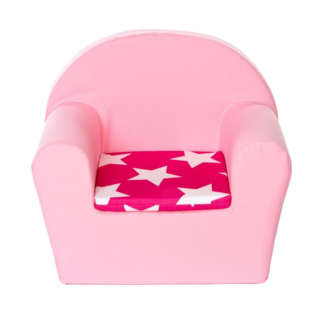 Peuterstoeltje (roze ster fuchsia)