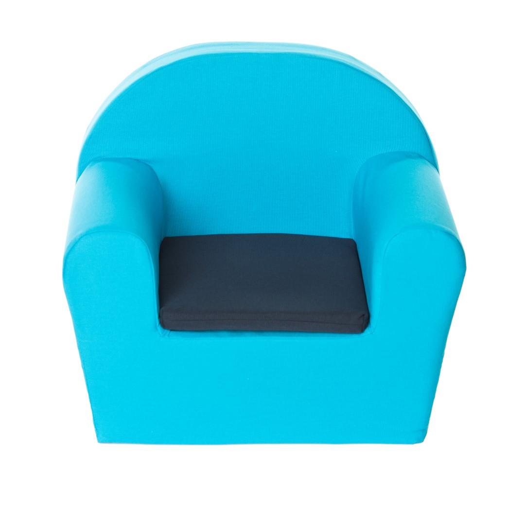 Peuterstoeltje (turquoise blauw)